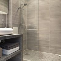 Light Grey Bathroom Tiles